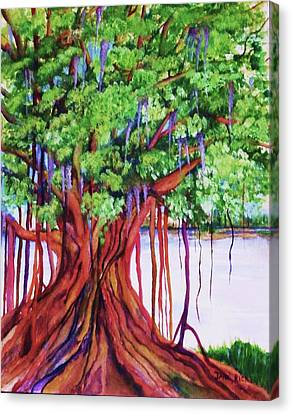 Living Banyan Tree Canvas Print