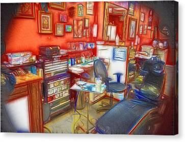 Living Canvas Canvas Print by Cindy Nunn