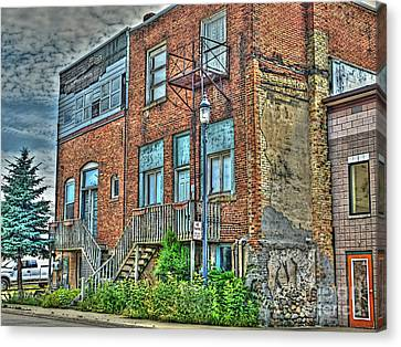 Living Downtown Up North Canvas Print by MJ Olsen
