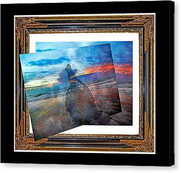 Living Frame Canvas Print by Betsy Knapp