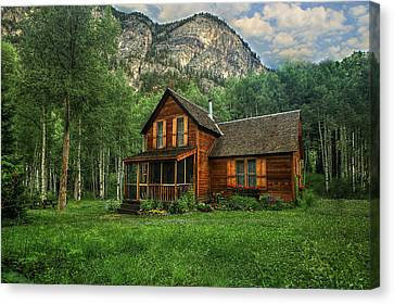 Crystal Colorado Canvas Print - Living Crystal by Ryan Smith