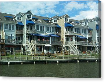 Canvas Print featuring the photograph Living On The Dock Of The Bay by Emmy Marie Vickers