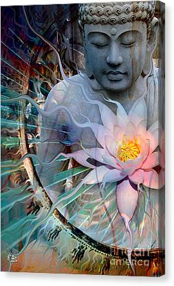 Lilies Canvas Print - Living Radiance by Christopher Beikmann