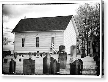 Living With The Dead Canvas Print by John Rizzuto