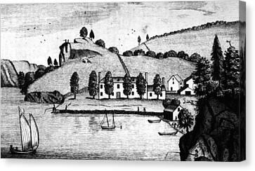 Livingston Estate, 1796 Canvas Print by Granger