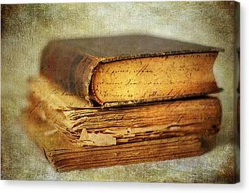 Livres Canvas Print by Jessica Jenney