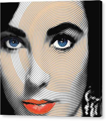 Liz Taylor Canvas Print by Tony Rubino