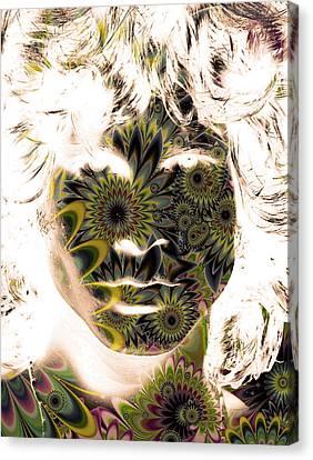 Jim Morrison . Legend Canvas Print - Lizard King by The Artist Project