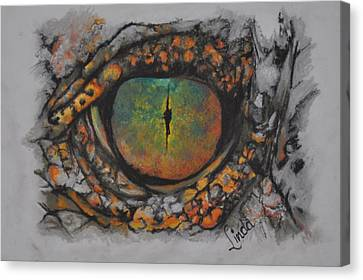 Lizards Eye Canvas Print