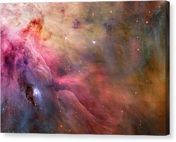 Ll Ori And The Orion Nebula Canvas Print by Movie Poster Prints
