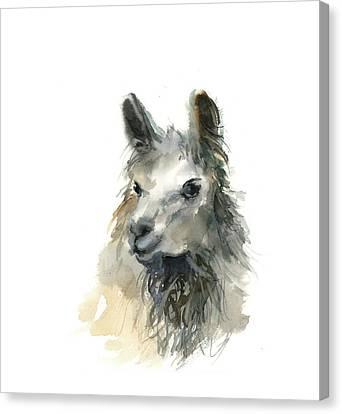 Llama Canvas Print - Llama II by Sophia Rodionov