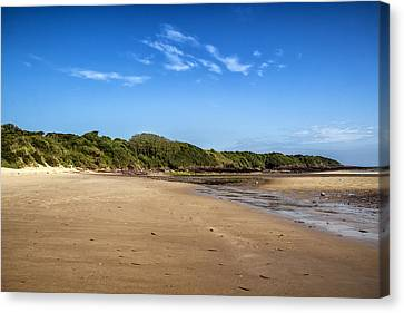 Lligwy Beach Canvas Print by Georgia Fowler