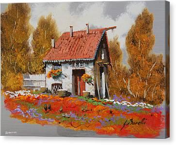 Lo Steccato Canvas Print