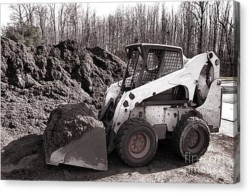 Loader  Canvas Print by Olivier Le Queinec