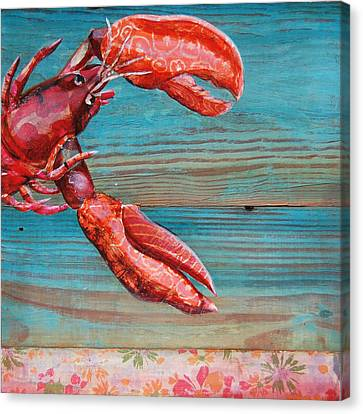 Lobster Blissque Canvas Print by Danny Phillips