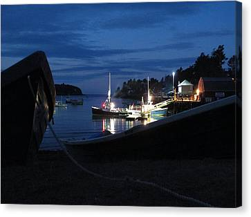Lobster Boat Mackerel Cove Canvas Print by Donnie Freeman