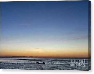 Lobster Boats Going Out Canvas Print