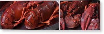 Lobster Canvas Print by Nailia Schwarz