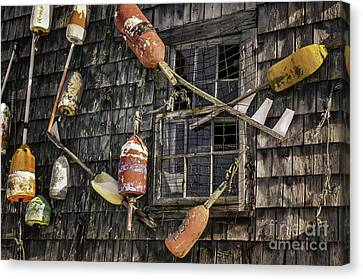Lobster Shack Window Dressing Canvas Print by Thomas Schoeller