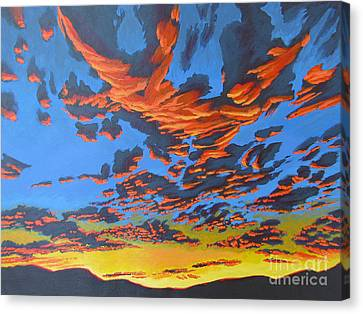 Lobster Sky Canvas Print