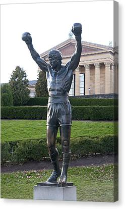 Local Hero - Rocky Canvas Print by Bill Cannon