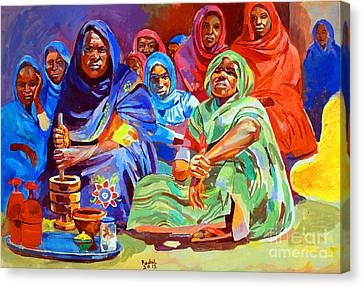 Canvas Print - Local Perfume For The Bride by Mohamed Fadul