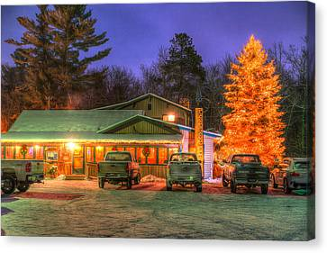 Local Watering Hole Canvas Print by Paul Freidlund