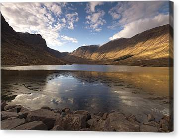 Loch Coire Nan Arr Canvas Print by Karl Normington