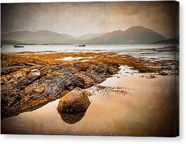 Loch Creran Coastline Canvas Print