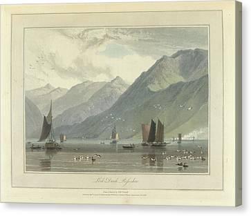 Loch Duich Canvas Print by British Library