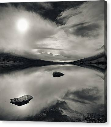 Loch Etive Canvas Print by Dave Bowman