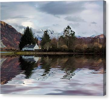 Loch Etive Reflections Canvas Print