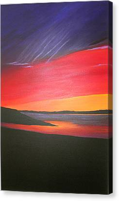 Canvas Print - Loch Ewe by Aileen Carruthers