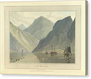 Loch Hourne Canvas Print by British Library