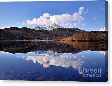 Loch Lomond Canvas Print by Aditya Misra