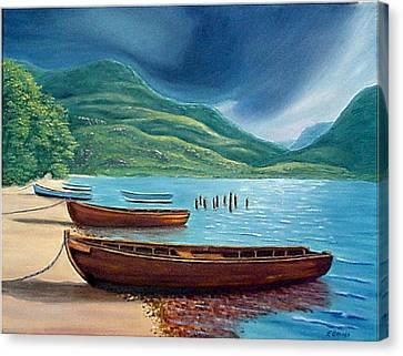 Loch Maree Scotland Canvas Print