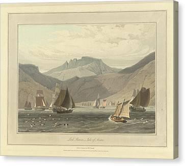Loch Ranza On The Isle Of Arran Canvas Print