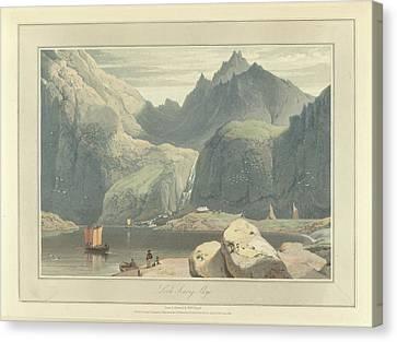 Loch Scavig Canvas Print by British Library