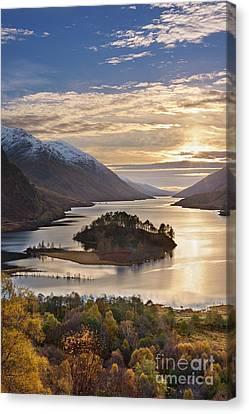 Loch Shiel Canvas Print by Rod McLean