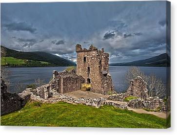 Lochness Canvas Print by Terry Cosgrave