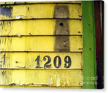 Lock Stock And Mailbox Canvas Print by Joe Jake Pratt