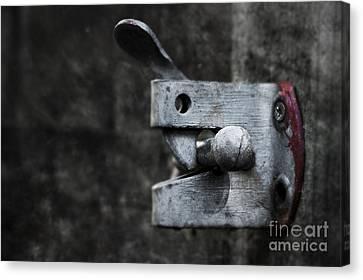 Lock Canvas Print by Svetlana Sewell
