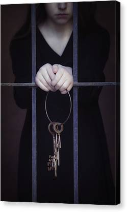 Locked-in Canvas Print by Joana Kruse