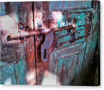 Locked Canvas Print by Olivier Calas