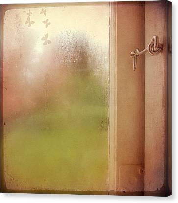 Canvas Print featuring the photograph Locked by Sally Banfill