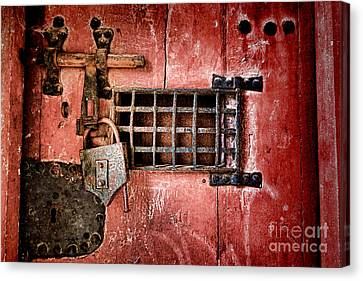 Locked Up Canvas Print by Olivier Le Queinec