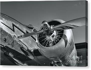 Lockheed 12a Electra Junior  Canvas Print by Olga Hamilton
