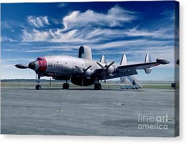 Lockheed Ec-121 Warning Star Early Warning Aircraft Canvas Print