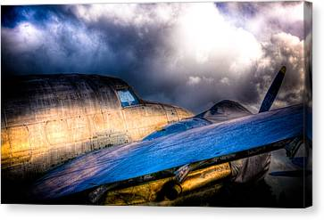 Lockheed Hudson Canvas Print by Phil 'motography' Clark