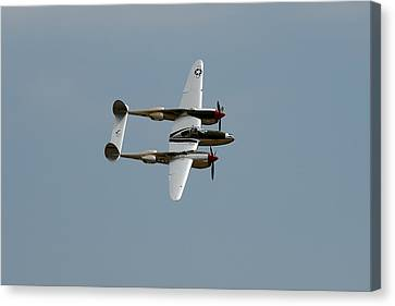 Lockheed P 38 Lightning Canvas Print
